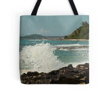 Pounding The Coast Tote Bag