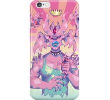 Pink Devil Monarch iPhone Case/Skin