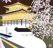 shinkansen remix by Timothee Christinat