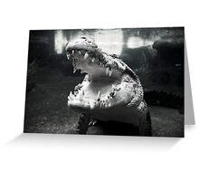 Rex The Crocodile Greeting Card