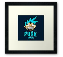 Punk Kid Framed Print