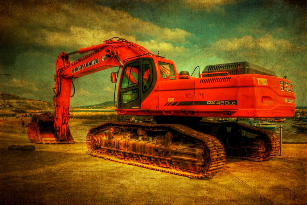 Digger by ajgosling