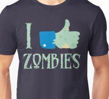 I Like Thumbs Up Zombies T Shirt Unisex T-Shirt