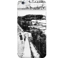 A Girl by the Sea – Rain iPhone Case/Skin