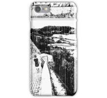 A Girl by the Sea – Rain iPhone Case/Skin