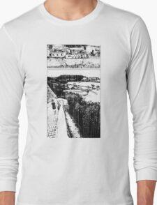 A Girl by the Sea – Rain Long Sleeve T-Shirt