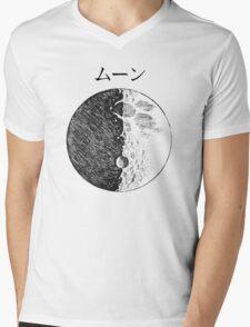 Sketches – Moon Mens V-Neck T-Shirt