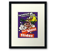 Splatfest Team Water Slides v.1 Framed Print