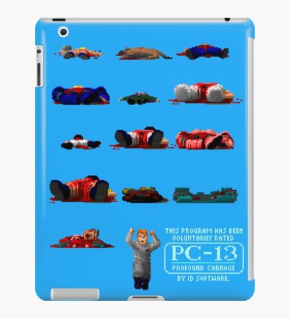 Rated PC-13 iPad Case/Skin