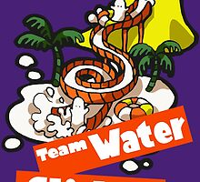 Splatfest Team Water Slides v.2 by KumoriDragon