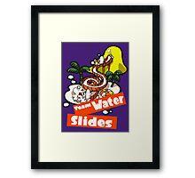 Splatfest Team Water Slides v.2 Framed Print