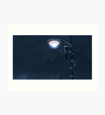 5 Centimeters Per Second – Light Pole Art Print