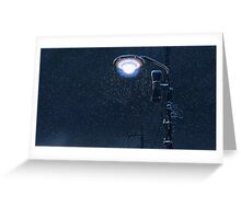 5 Centimeters Per Second – Light Pole Greeting Card