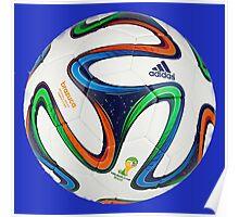2014 FIFA World Cup Brazil match ball Poster