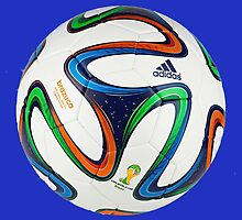 2014 FIFA World Cup Brazil match ball by JoAnnFineArt