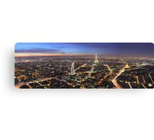 Paris – Night Life Canvas Print