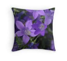 The Flowery Ant Throw Pillow
