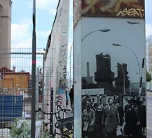 Eastside Gallery - A peaceful year 1965 by theupsidedowntr