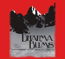 dharma bums - matterhorn peak Kids Clothes