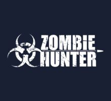 Zombie Hunter T Shirt by bitsnbobs
