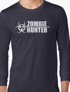 Zombie Hunter T Shirt Long Sleeve T-Shirt