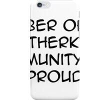 otherkin community  iPhone Case/Skin
