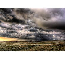 A stormy Nebraska Photographic Print