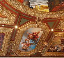 Gorgeous ceiling at Venetian ~ Las Vegas by Marjorie Wallace