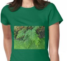 A Touch of Green - Beautiful Ferns  Womens Fitted T-Shirt