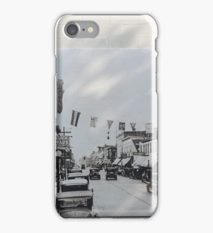 DOWNTOWN MURAL iPhone Case/Skin