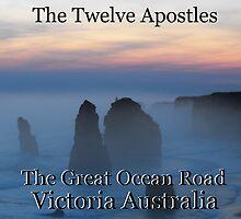 Twelve Apostles Great Ocean Road by Matthew Walmsley-Sims