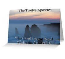 Twelve Apostles Great Ocean Road Greeting Card