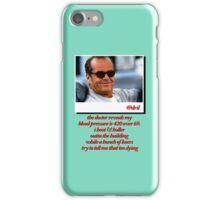 Jack Nicholson Quotes iPhone Case/Skin
