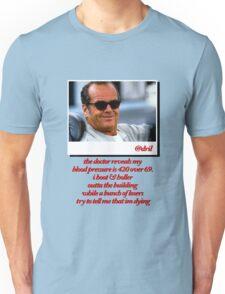 Jack Nicholson Quotes Unisex T-Shirt
