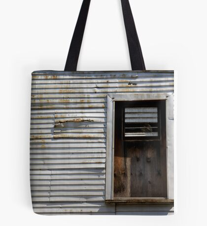 Rusted Facade Tote Bag