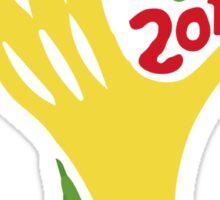 FIFA World Cup Logo Brazil 2014 Sticker
