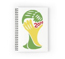 FIFA World Cup Logo Brazil 2014 Spiral Notebook
