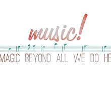 music is magic by Liz Nunn
