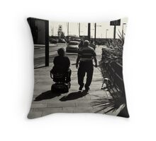 A jack tar never grows too old for the ladies. Throw Pillow