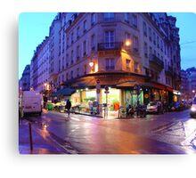Paris Awakens 30 Canvas Print