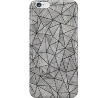 triangle zentangle iPhone Case/Skin