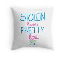 pretty lies Throw Pillow