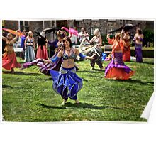 Belly Dancers Poster