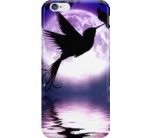 Moonlit Hummingbird iPhone Case/Skin