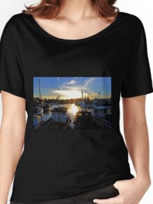 The Harbour -Wollongong- Women's Relaxed Fit T-Shirt