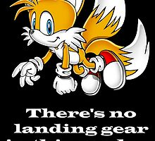 Tails - No landing gear in this mode by WolfAndOak