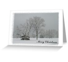 """Merry Christmas-""""Undercover"""" Greeting Card"""