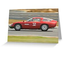 Alfa Romeo Giulia TZ Greeting Card