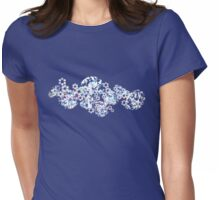 diamond bouquet  Womens Fitted T-Shirt