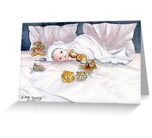 Baby and Friends Greeting Card